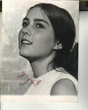 Romina Power Autographed Vintage 7x9 Photo Famed Singer w/ Al Bano