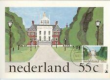 Nederland Maximumkaart(en) R20 W afgestempeld op 1e dag van uitgifte 1981