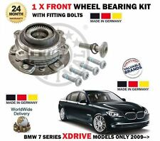 FOR BMW 730D 740D 750 XDRIVE MODELS ONLY 2009-> 1 X FRONT WHEEL BEARING HUB KIT