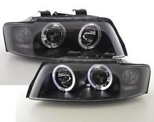 SCHEINWERFER schwarz AUDI A4 8E B6 01-04 LED STANDLICHT-RINGE original SONAR