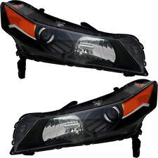 HID Xenon Headlights Headlamps Head Light NEW Pair Set for 2012-2014 Acura TL