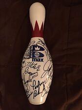 34 Professional Bowlers Signed Pba Bowling Pin Pete Weber Jason Belmonte & More