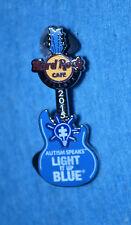 HARD ROCK CAFE 2015 Atlanta Autism Speaks Light It Up Blue Pin # 89463