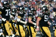 """Steelers offensive line 1978 12""""x 18"""" PHOTO"""