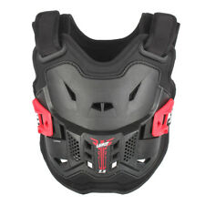 Leatt MX17 KIDS PEEWEE MX Motocross 2.5 Chest Guard/Armour - Black/Red