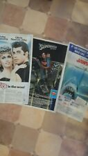 TOPPS MOVIES GIANT PIN-UP POSTERS from 1981