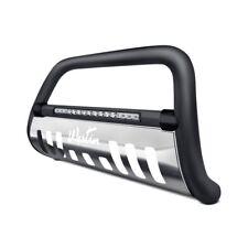 "Westin 3""Ultimate Black LED Bull Bar w Brushed Skid Plate For 11-18 Ram 2500"