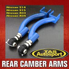 Adjustable Rear Upper Camber Arms for Nissan R33 R34 Skyline GTS GTT GTR RB25