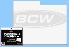 BCW: Storage Box Dividers: POSTCARD SIZE:  20ct:  2 Packs x 10 ea *FREE USA S&H