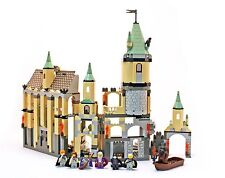 Lego 4709 Harry Potter and the Sorcerer's Stone Hogwarts Castle Château Notice