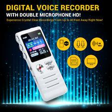 K6 8G Digital Audio Voice Recorder USB Telephone Dictaphone MP3 Player+ Earphone