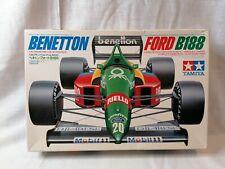 1988 - TAMIYA Benetton Ford B188 F1 Car 1/20 Scale Plastic Model Kit 20021