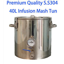 Premium Quality 40L S.S.304 Infusion Mash Tun for All-Grain-Brewing Homebrew