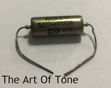 K40Y-9 .022uf 400v Russian Tone Capacitor - New Old Stock, Paper in Oil