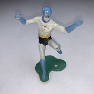 Vintage 3 inch Batman Figure - 1966 Ideal Justice League Playset - Very Rare