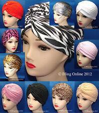 NEW FULL HEAD TURBAN HEADWRAP INDIAN STYLE HEAD WRAP BANDANA HAT HAIR LOSS CHEMO