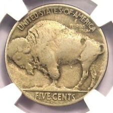 1937-D 3 Legs Buffalo Nickel 5C (Three Legged) - NGC VF Details - Rare Coin!