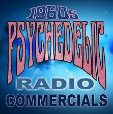 1960s Psychedelic Radio Commercials by Various Artists (CD, Nov-2013,...