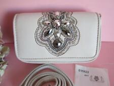 Brighton ANJU Beaded Soft Italian Leather Small Crossbody Pouch Handbag NWT