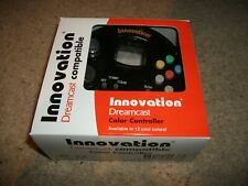 INNOVATION - DREAMCAST CONTROLLER - CLEAR BLACK -  BRAND NEW! Boxed