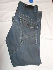 G-STAR ORIGINALS RAW SCUBA DENIM R33/01 JEANS W36 L34 Very Good Condition #146
