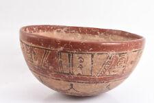 Pre-Columbian Copador Bowl Maya Culture El Salvador 600 AD Ex. Dr. Arnold Saslow