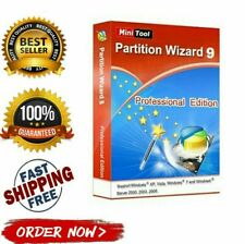 MiniTool Partition Wizard 9.1 PRO ✔️ Genuine Activation Key ✔️ Full Version