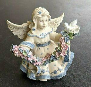 "Sarah's Angels ""Little Bit of Heaven"" Figurine ""Cheryl"" 3"" tall"