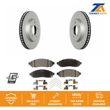 Front Brake Coated Disc Rotor Ceramic Pad For Nissan Leaf Chevrolet City Express