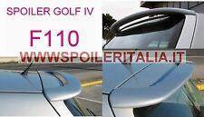 SPOILER  ALETTONE POSTERIORE  GOLF  IV  4  GREZZO F110G     SI110-1b