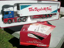 "CORGI MODERN 1/50 MERCEDES-BENZ ACTROS+SEMI réfrigérée ""The Real Mc KAY"""