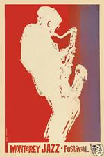 Jazz Festival: Monterey Jazz Festival Concert Poster Circa 1964
