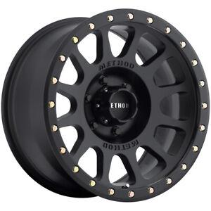 "Method MR305 NV 17x8.5 6x5.5"" +0mm Matte Black Wheel Rim 17"" Inch"
