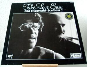 ELLA FITZGERALD - JOE PASS - TAKE LOVE EASY © 1974 PABLO Records