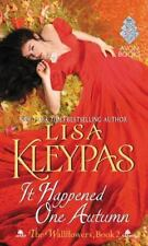 It Happened One Autumn (the Wallflowers, Book 2): By Lisa Kleypas