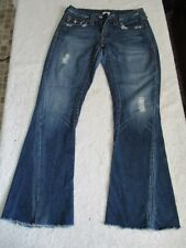 Women's True Religion Joey Jeans Row 27 Seat 33 100% Made In The USA.