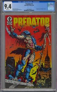 PREDATOR #1 CGC 9.4 1ST APPEARANCE WHITE PAGES