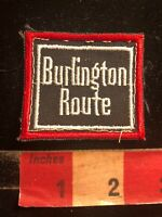 Vtg BURLINGTON ROUTE Railroad Patch - Train Related 04Q6