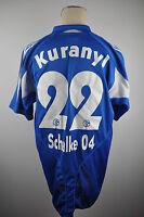 2004-05 S04 Schalke 04 Trikot #22 Kuranyi Gr. XL adidas blau Jersey Klassiker