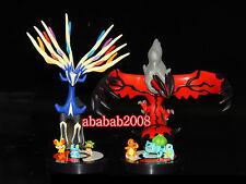 Takara Tomy pokemon Xy 01 gashapon figure set - Xerneas Yveltal Bulbasaur (4 Pcs
