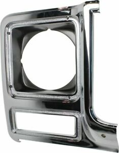 Head light Headlight Door Headlamp Bezel Passenger Right Side for Chevy Blazer