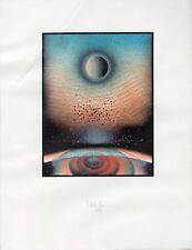 Rare Print: Space  #1 (Noll?)  KN447 Auflage (Edition) 75 82 (Framed)