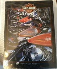 Harley Davidson Thunder Row 1000pc Puzzle FX Schmid 27x20 No. 78214 *NEW*