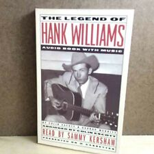 2 Cassettes - The Legend of Hank Williams Audio Book With Music (1996 Polygram)