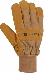 Carhartt Men's Wb Suede Leather Waterproof Breathable Work Glove