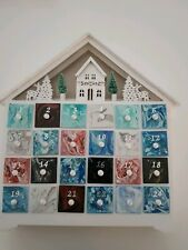 Hand painted Advent Calender with LED Lighting