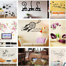 10 Types Vinyl Home Room Decor Art Wall Stickers Removable Decal Mural DIY Hot