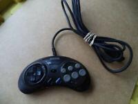 Original Sega Genesis 6 Button Controller Turbo MK-1470 - Nice