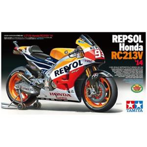 Tamiya 14130 1/12 Repsol Honda RC213V 2014 Plastic Model Kit Brand New