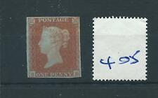 wbc. -  GB - QUEEN VICTORIA -  QV405 - penny red - imperf. - SG 8 - mounted mint